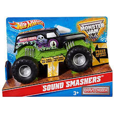 wheels monster jam grave digger truck buy wheels monster jam grave digger sound smashers truck in