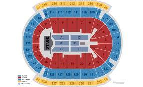 Ticketmaster Floor Plan Prudential Center Newark Tickets Schedule Seating Chart