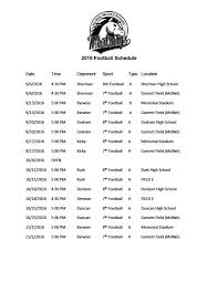 mustang football schedule mcniel middle on the mustang football schedule