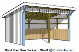 round garage plans 12x18 run in shed plans lean to shed plans pinterest horse