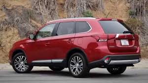 red subaru forester 2015 2016 mitsubishi outlander vs 2015 subaru forester youtube