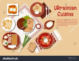 cuisine est cuisine dishes borscht ceramic pot เวกเตอร สต อก 402065656