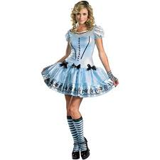 alice wonderland sassy alice halloween costume walmart