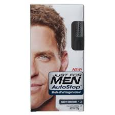 just for men light brown just for men autostop haircolor kit light brown a 25 1 ea