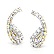ear cuffs online india paisley ear cuffs jewellery india online caratlane
