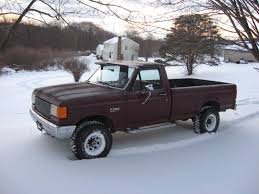 Ford F250 Plow Truck - 1988 ford f 250 international 7 3 diesel zf 5 speed 4x4 for sale