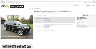 si e auto sport black ebay scam range rover evoque 2 0 si4 auto 2012my dynamic