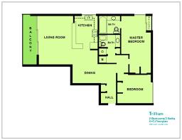 trillium floor plan trillium 5c ra151740 redawning