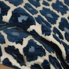 Velvet Chenille Upholstery Fabric Snow Leopard Fabric In Silver And Cream Upholstery Grade And