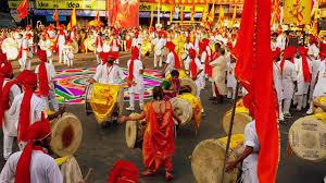 Home Decoration Of Ganesh Festival by Ganpati Darshan Movements Of Lord Ganesh