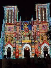 Light Show On San Fernando Cathedral Picture Of Main Plaza San