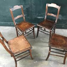 Set Of Four Dining Chairs Luterma Set Of Four Dining Chairs Estonia Ca 1920 Catawiki