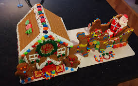 2nd annual gingerbread house creation and deco contest real