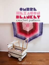 caron cakes hexagonal blanket u2013 crochet