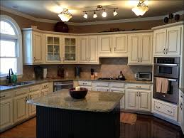 Painting Kitchen Cabinets Blue Kitchen Brown Painted Kitchen Cabinets Black And White Cabinets