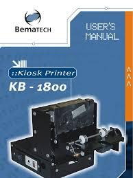 manual impresora de kiosko bematech kb 1800 pdf electromagnetic