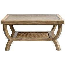 Distressed Oak Coffee Table Square Coffee Table With Woven Top Distressed Oak Scenario Home
