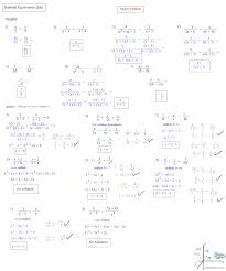solving rational equations worksheet answers algebra 2 jennarocca