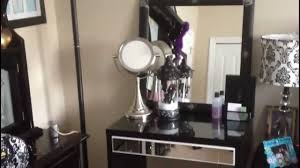 Where To Buy Makeup Vanity Table My Makeup Vanity Diy Inexpensive Youtube