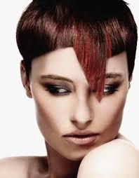 top 10 medium length bang haircuts contrasting lines textures