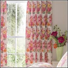 Pink And Orange Curtains Pink And Orange Bedroom Curtains Curtains Home Design Ideas
