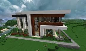 modern home blueprints finding the best minecraft small modern house modern house plan
