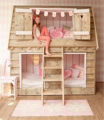 chambre enfant en lit cabane fille chambre enfant