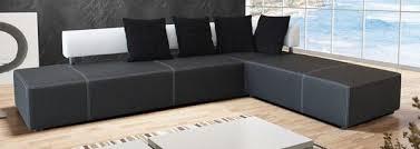 canapé d angle en simili cuir canapé d angle simili cuir noir canapés en cuir meubles décos