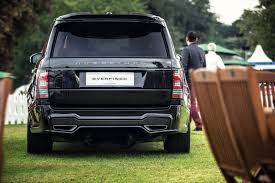 land rover overfinch overfinch launches first range rover to break the 200 000 barrier