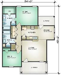 One Level Living Floor Plans Plan 36923jg All On One Level Ranch Architectural Design House