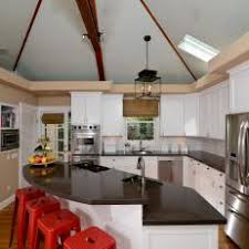 kitchen lighting ideas vaulted ceiling photos hgtv