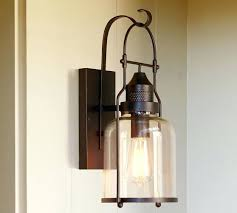 pottery barn light bulbs sconce exterior lighting charming outdoor lanterns exterior wall