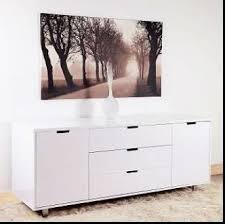 mdf with white high gloss lacquer finish buffet cabinet buy high