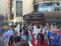 opening night fan event star wars the last jedi star wars the force awakens walt disney world opening night party