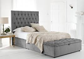 High Headboard Bed High Headboard Beds Trends Including Kensington Upholstered Divan