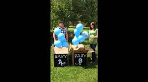 gender reveal balloons in a box gender reveal balloon boxes