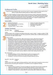 some exle of resume exle of a cv