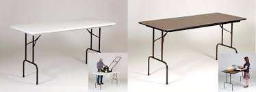 counter height work table correll inc counter height standing height folding work tables