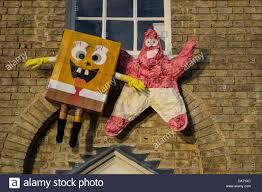 spongebob squarepants and patrick star characters in the stock