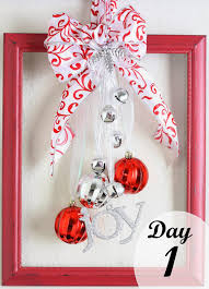 crafty allie 12 days of christmas day 1 christmas ornament frame