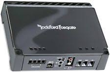 rockford fosgate punch p300 1 1 channel car amp ebay