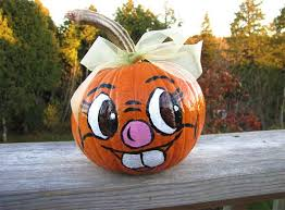 Funny Halloween Pumpkin Designs - 30 funny faced halloween pumpkin drawings and painting ideas