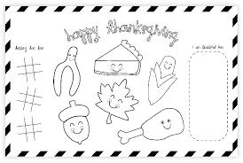 thanksgiving placemat free thanksgiving printable placemat