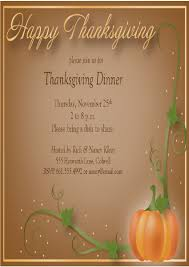 thanksgiving open house invitation best images collections hd