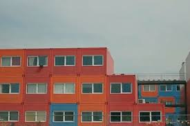 shipping container houses in amsterdam prove that small is better