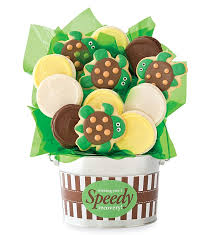 cookie baskets delivery 43 best cookie flowers images on flower pots plant