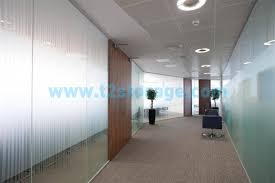 frameless glass wall office partitions across the uk t2 storage