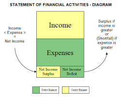 Financial Statements For Non Profit Organizations Exle by Statement Of Financial Activities Nonprofit Accounting Basics