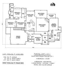 house plans 1 story plan no 2471 1211