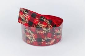 buy ribbon online buy gold deer black checker ribbon craft ribbons online